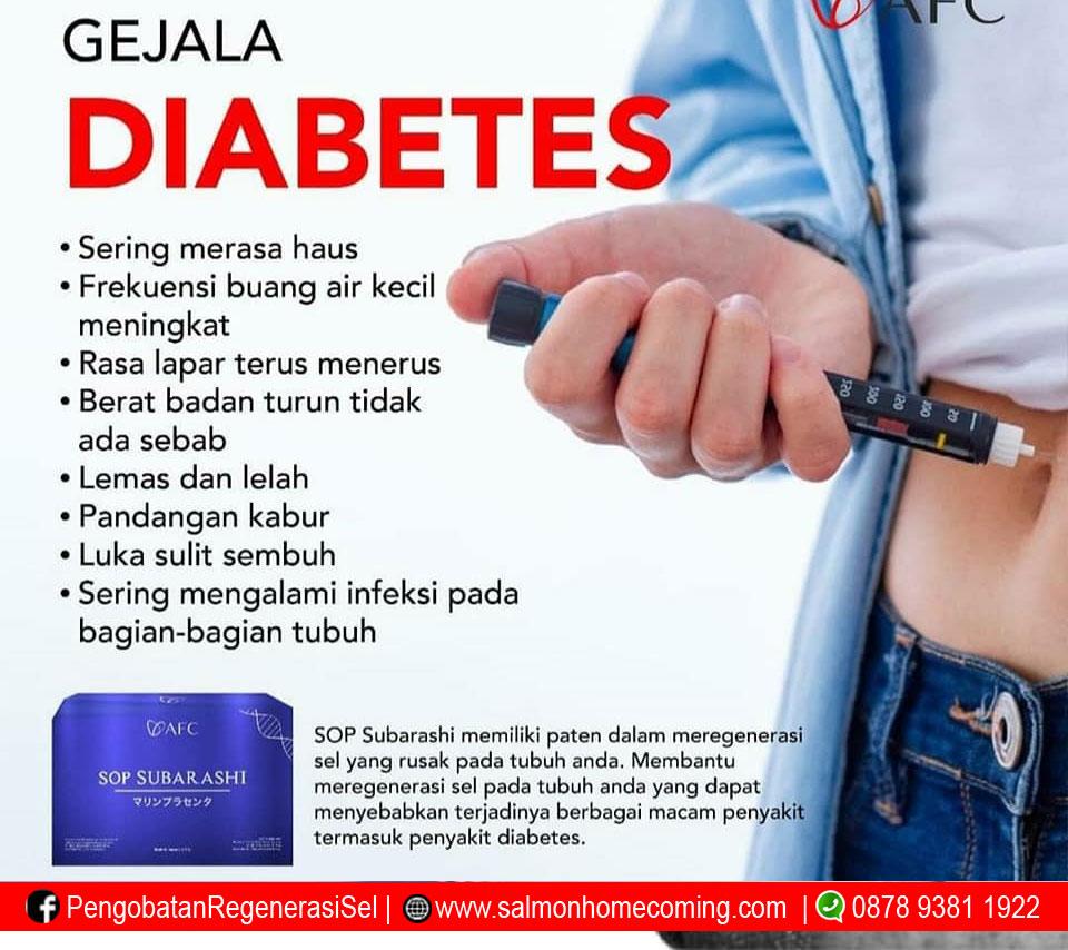 SOP Subarashi untuk diabetes
