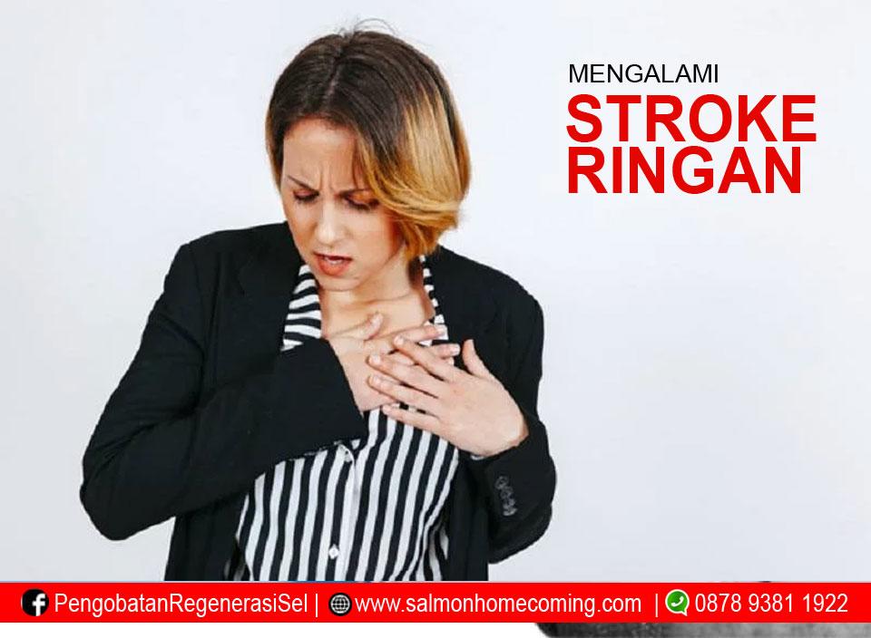 Ciri - ciri gejala stroke ringan