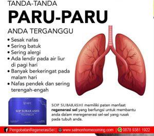 SOP Subarashi untuk Paru paru