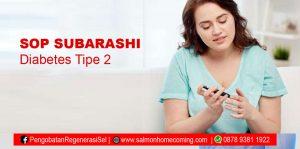 SOP Subarashi untuk diabetes tipe 2