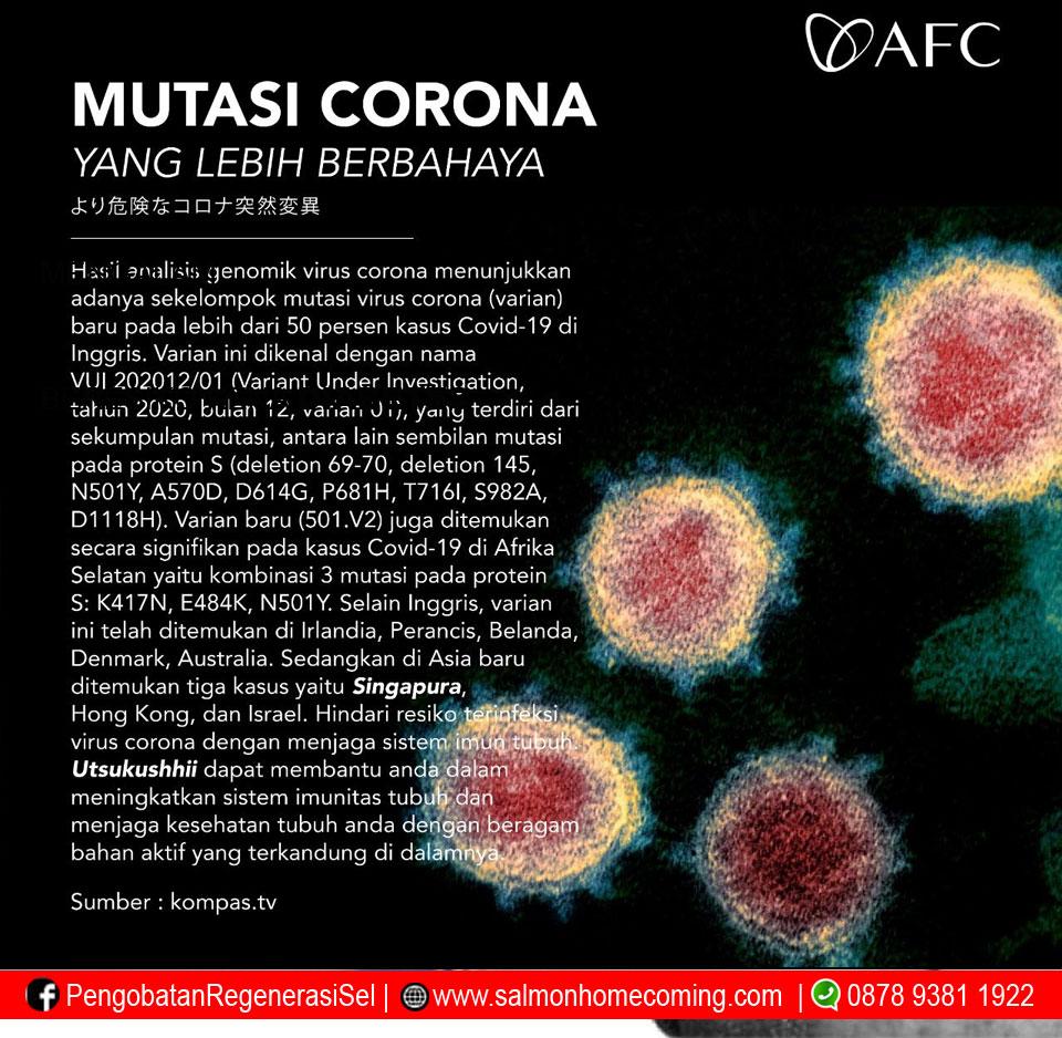 Bahaya Mutasi Covid 19