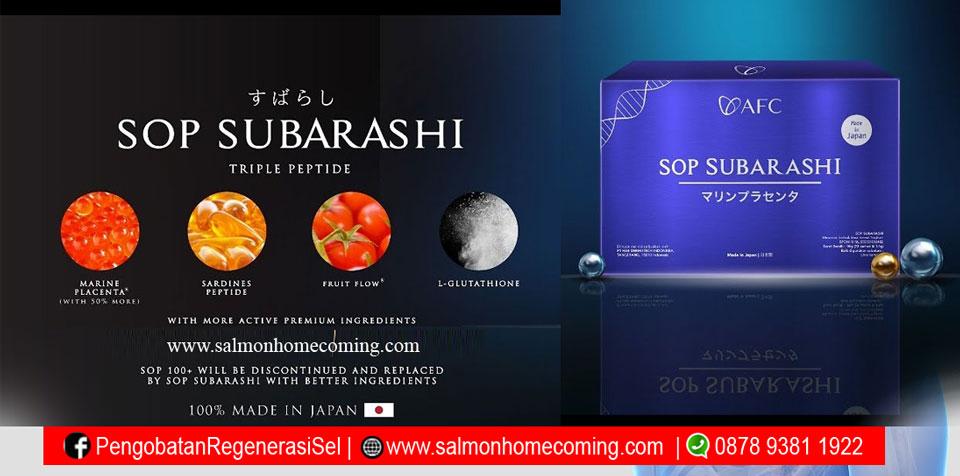 SOP Subarashi adalah